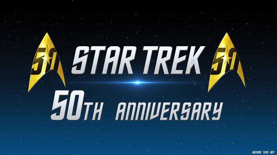 Happy 50th Anniversary Star Trek From GGA & Booze Phasers!