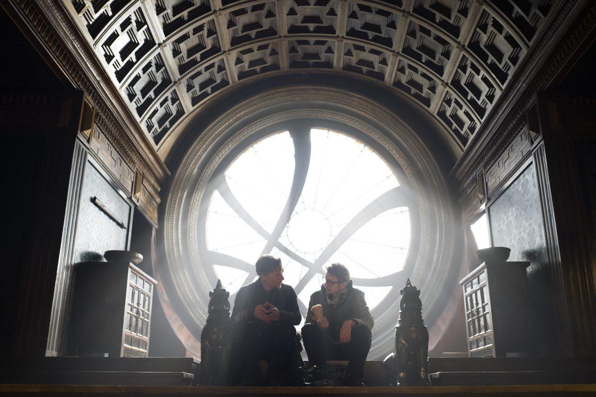 AVENGERS: INFINITY WAR Definitively Visiting Sanctum Sanctorum of Doctor Strange