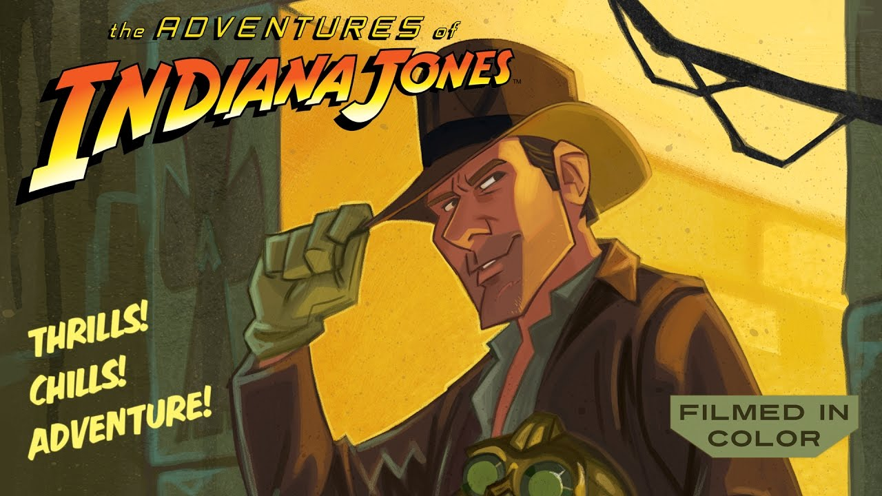 YouTube Gives Us An Awesome Animated Indiana Jones!!