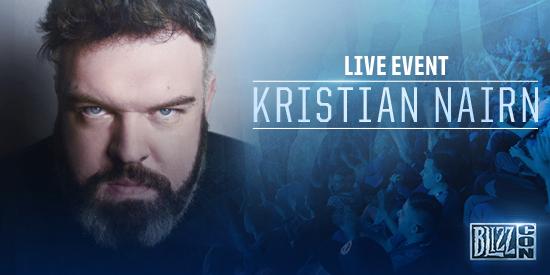 BlizzCon 2016: Kristian Nairn (Hodor) Will DJ The Anniversary Party