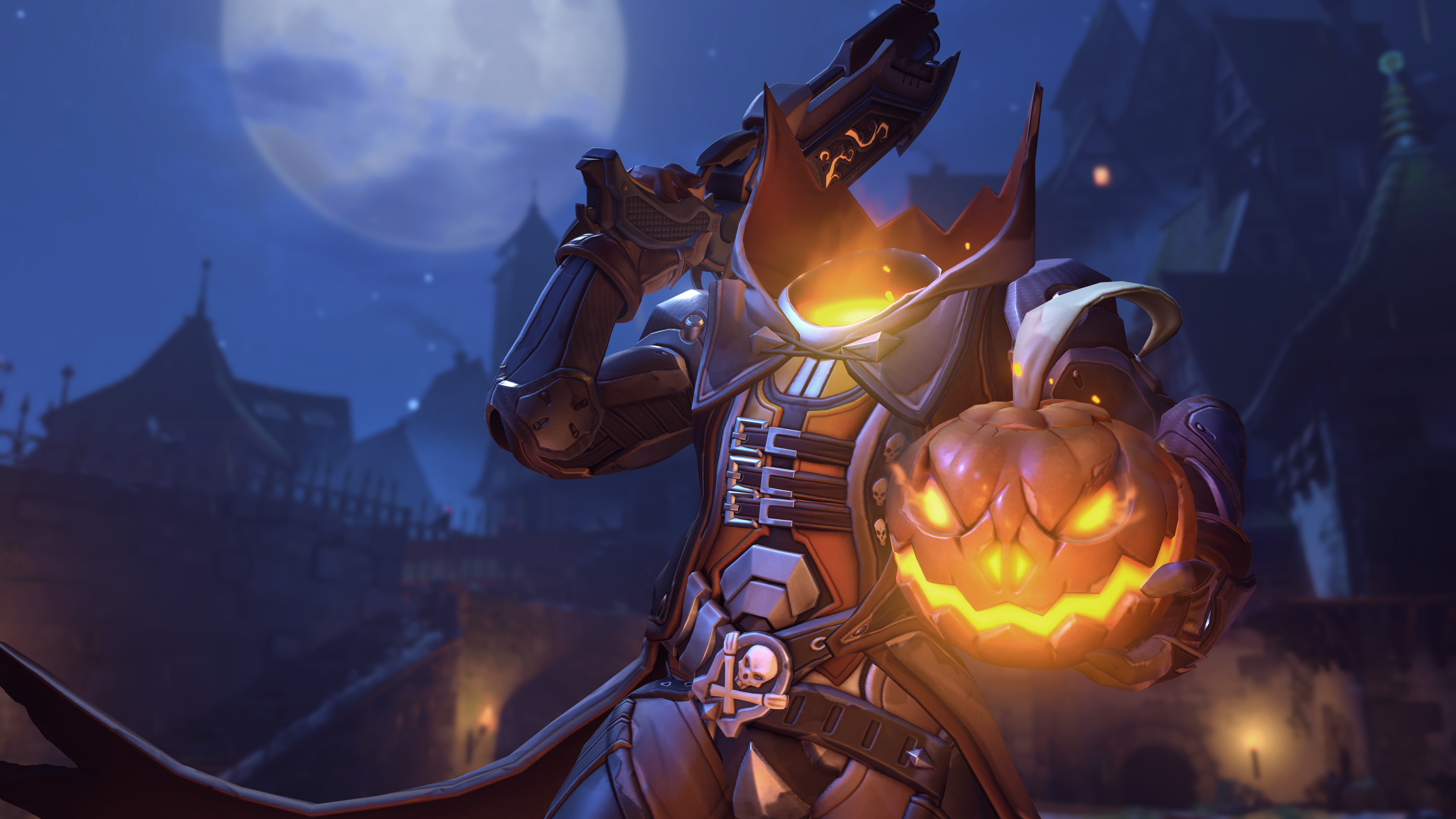 Give Your Pumpkin the Overwatch Treatment with these Halloween Stencils