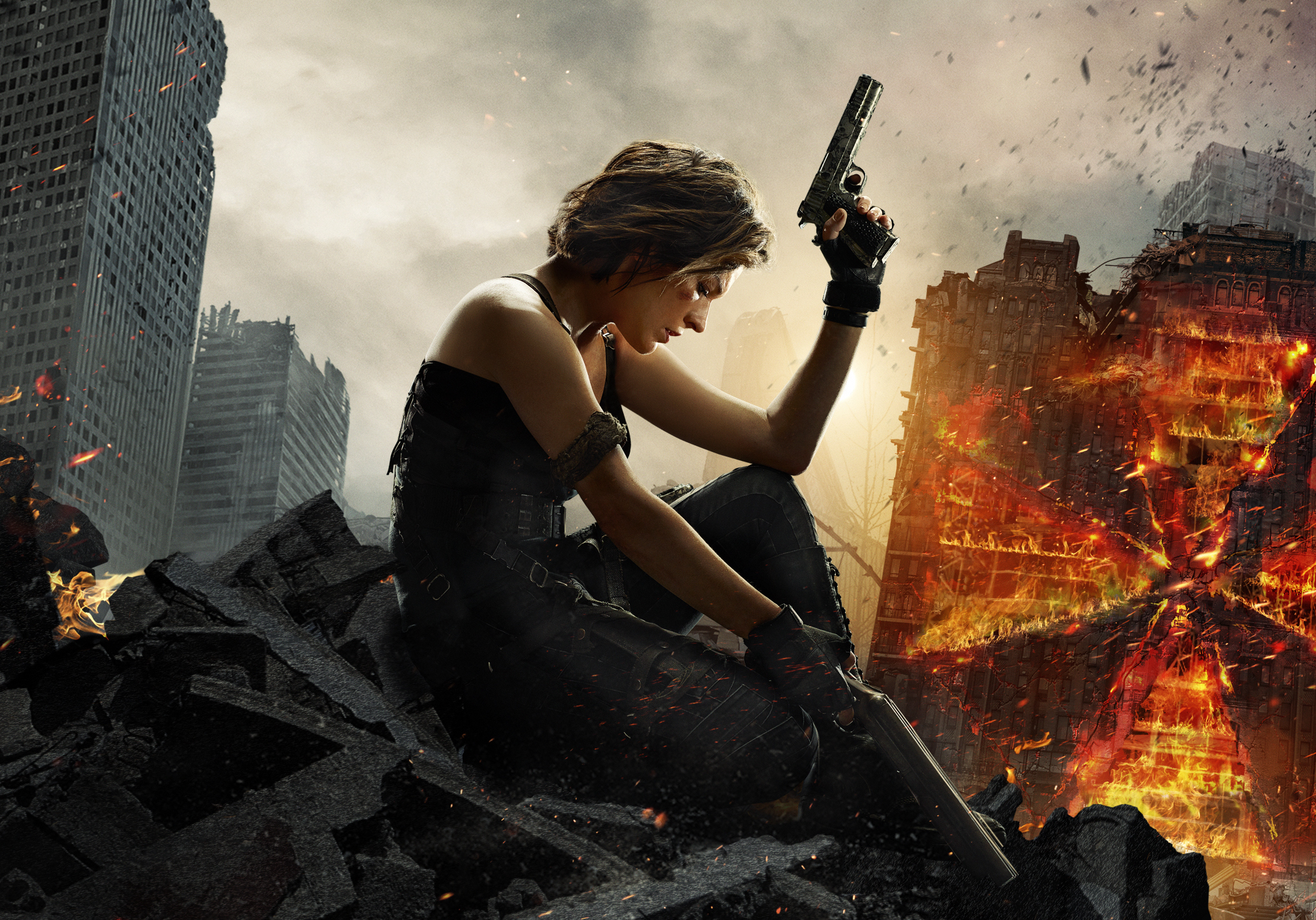 NYCC: Alice Goes Back to the Beginning in New 'Resident Evil: The Final Chapter' Trailer