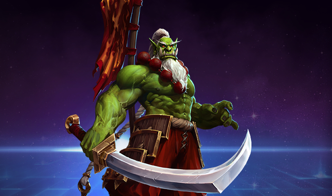 Samuro The Blademaster Appears in the Nexus in Heroes of the Storm