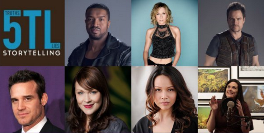 New 5 Truths and a Lie Storytelling Podcast Featuring Stars from Archer, Dark Matter, Farscape and Warehouse 13