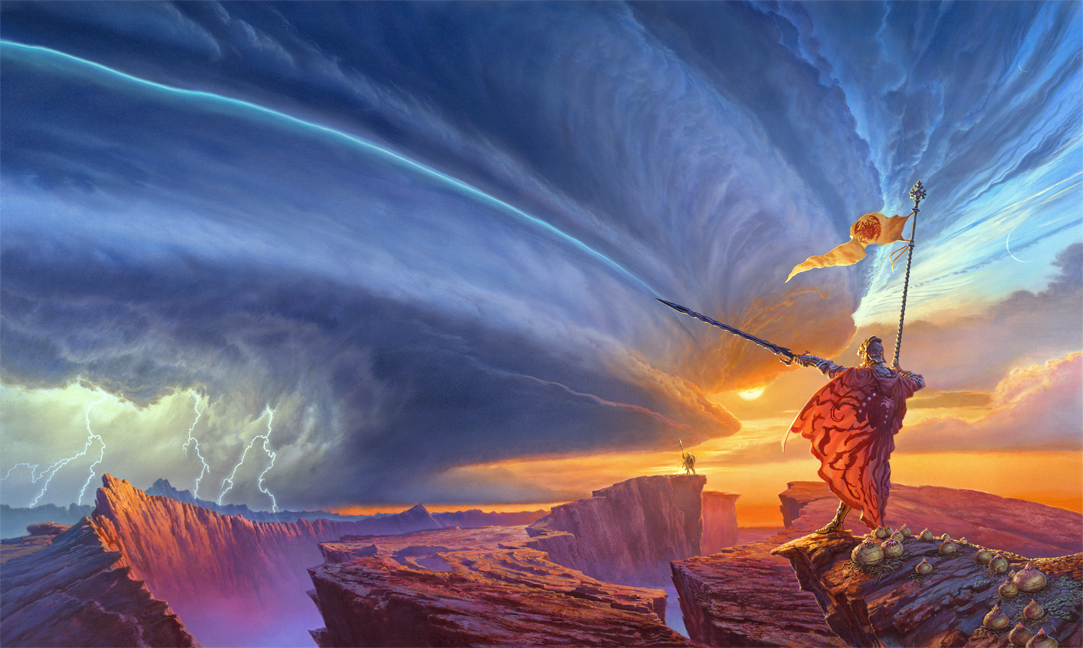 Brandon Sanderson's Cosmere Universe is Coming to a Theater Near You