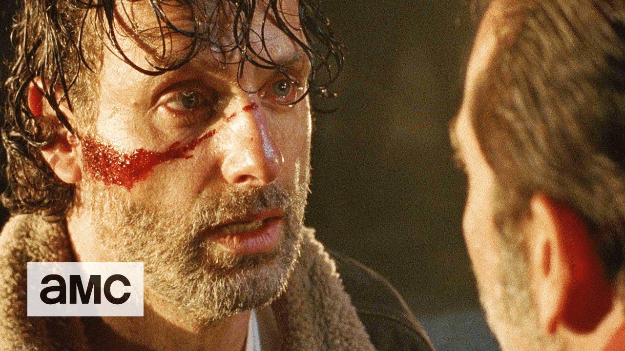 The Walking Dead Season 7 Sneak Peek Shows Negan Mercilessly Toying with a Lucille Survivor