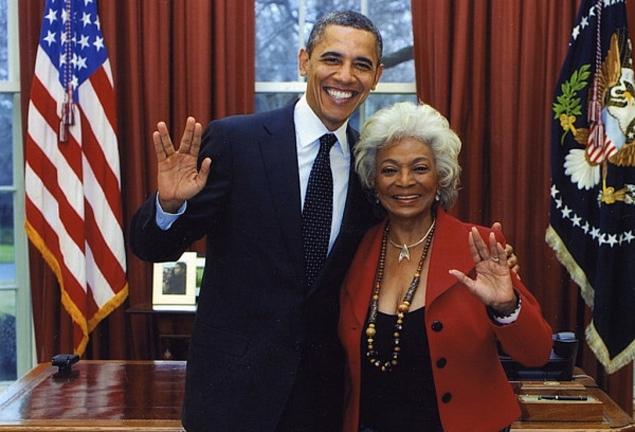 Oh My Goodness, President Obama Is A Trekkie!