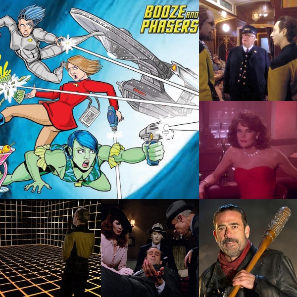 Ep 17 – Fave Holodeck Episodes and a Side of Negan with Joseph Scrimshaw and Josh Flaum