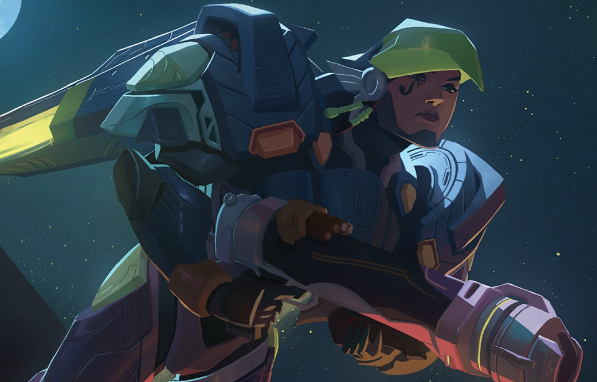 OVERWATCH Theory:  Pharah's Father