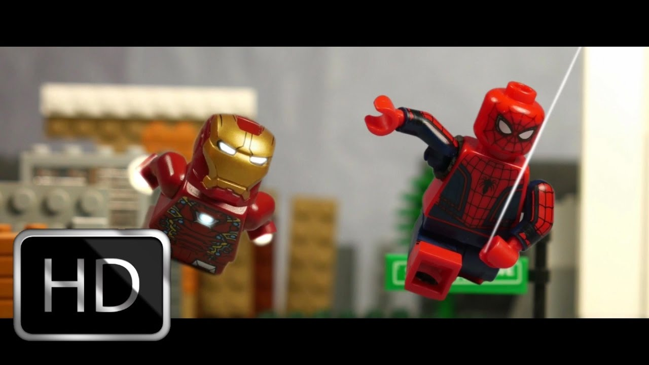 Watch the SPIDER-MAN: HOMECOMING Trailer With LEGOS