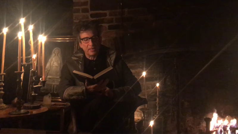 Neil Gaiman Reads Edgar Allen Poe's THE RAVEN