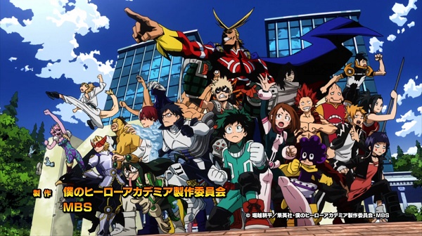 MY HERO ACADEMIA Recap: (S01E04) Start Line