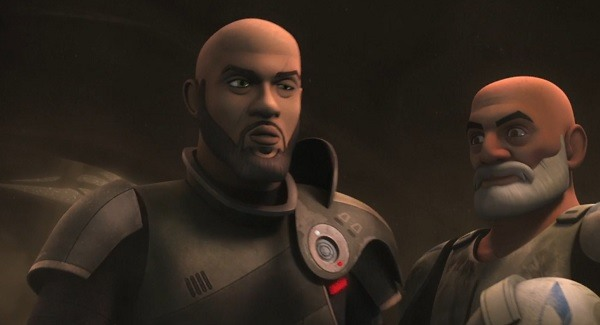 Latest STAR WARS REBELS Promo Takes Saw Gerrera from Movie to Animation