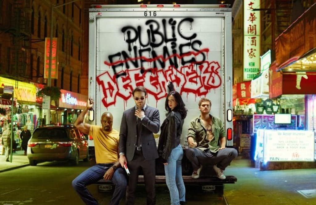 All the News and Pictures About THE DEFENDERS Collected Right Here