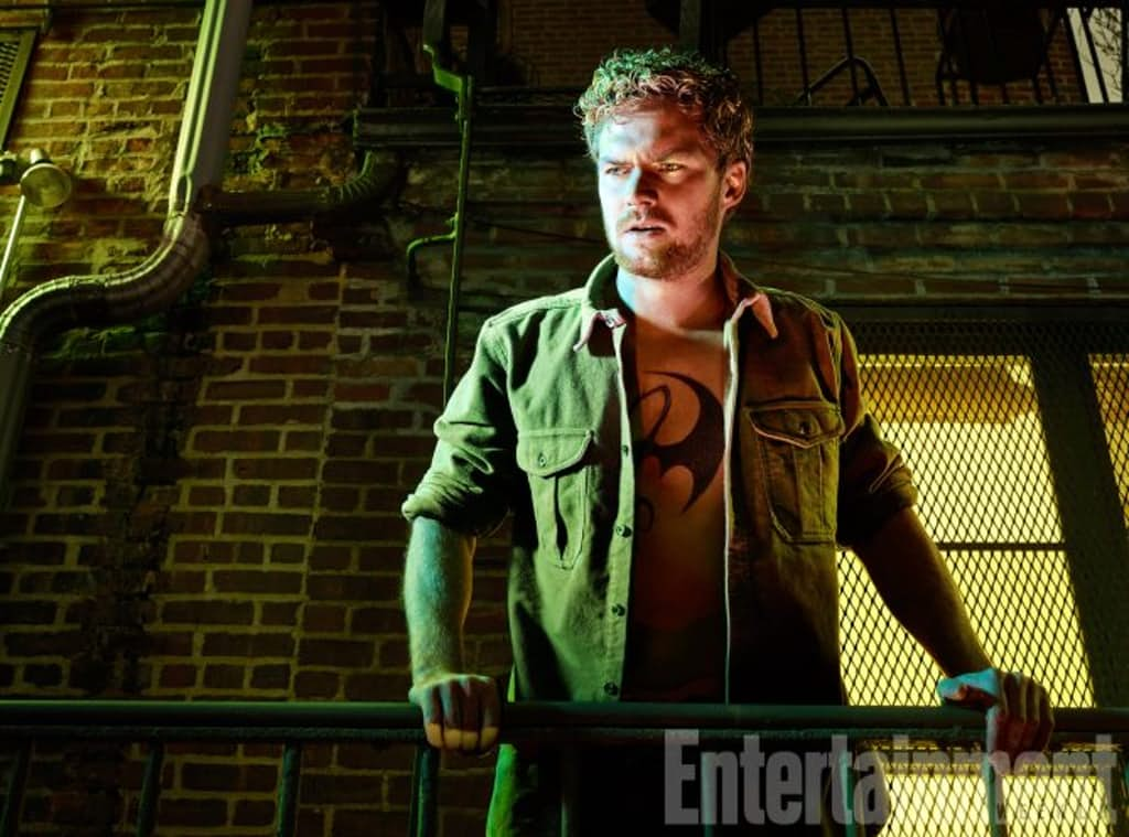 New Pictures of Finn Jones as IRON FIST Surface and They are Perfect!