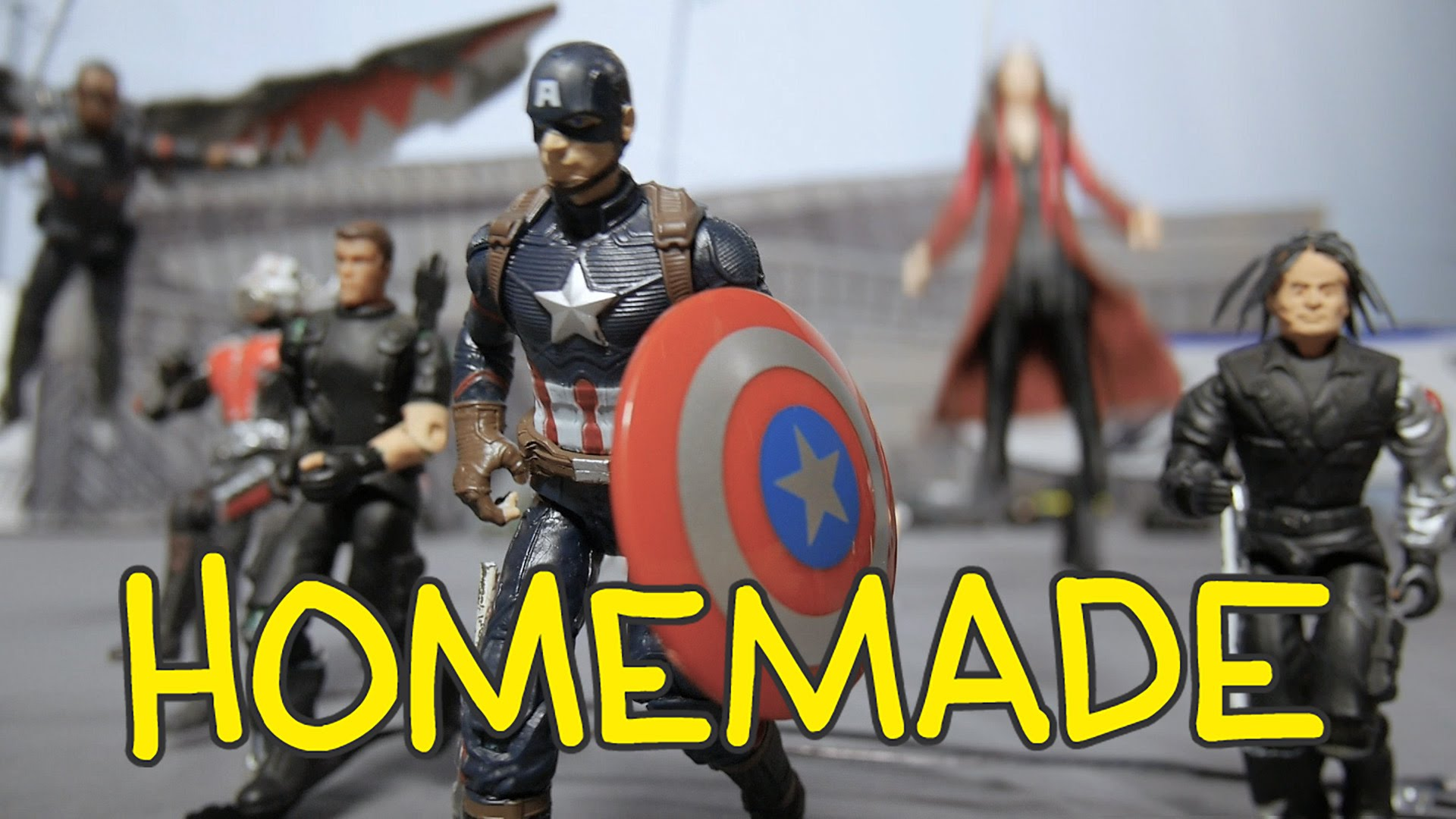 Check Out This Homemade CAPTAIN AMERICA: CIVIL WAR Trailer