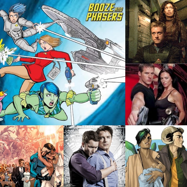 Ep 24 – Best Couples in Genre Fiction with Guests Kevin Fabian and Michael Annetta