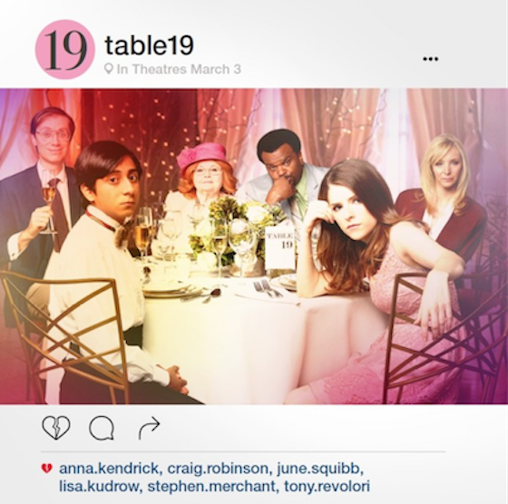 Movie Review – TABLE 19