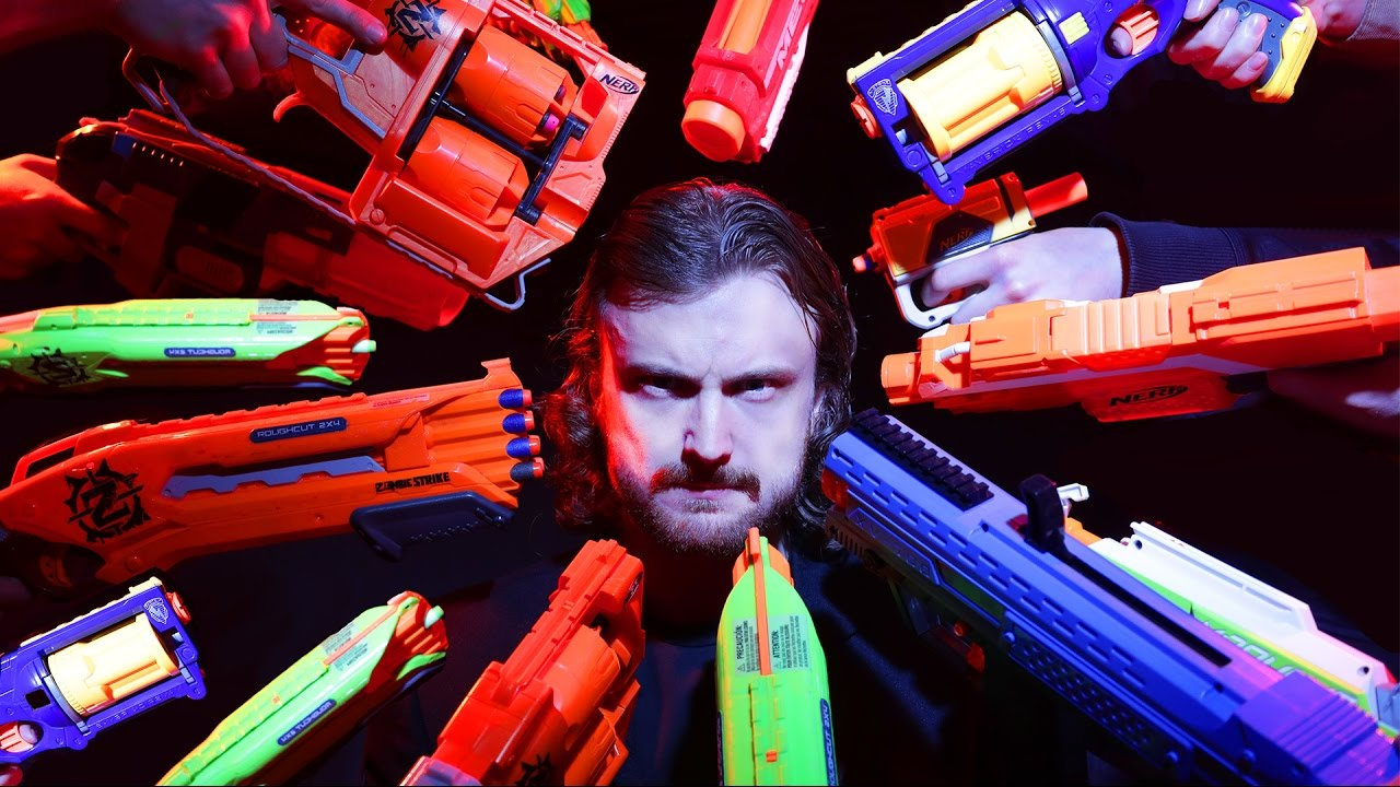 NERF JOHN WICK – Pretty Spot On Recreation of JOHN WICK 2 with Nerf Guns Is Hilariously Satisfying
