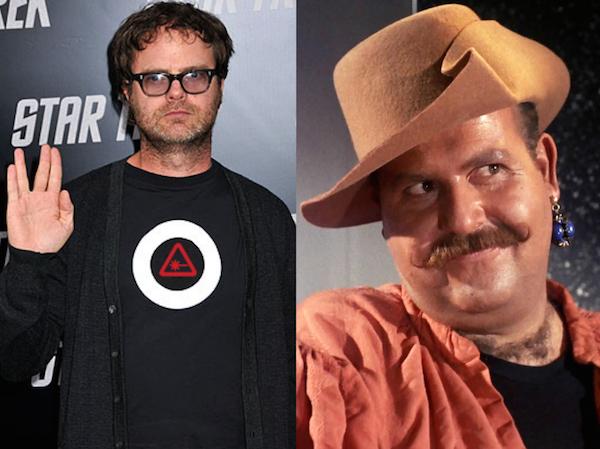 Rainn Wilson Cast as Liar and Rogue Harry Mudd on STAR TREK: DISCOVERY