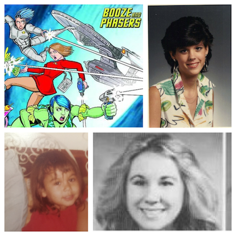 Ep 28 – Best of The 80's with Guest Kelly Holden Bashar on BOOZE AND PHASERS