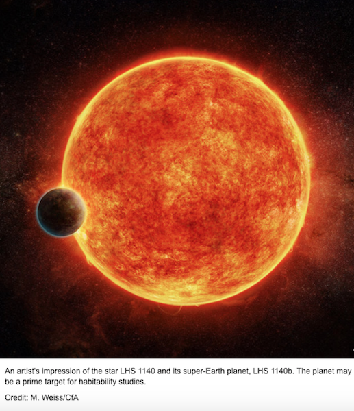 Scientists Discover 'Super-Earth' With Potential For Life