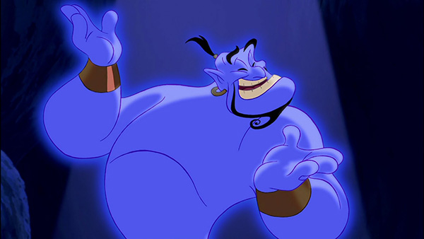 Will Smith Could Be Playing Genie in the Live Action ALADDIN
