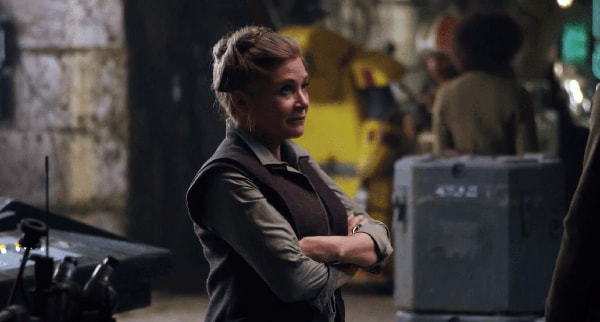 Carrie Fisher Will NOT Be in STAR WARS EPISODE IX