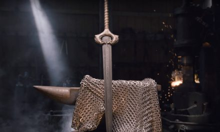 Watch These Blacksmiths Create Wonder Woman's God Killer Sword