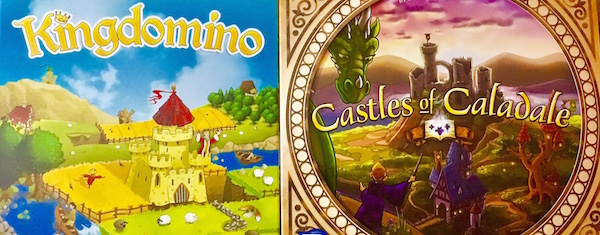 KINGDOMINO vs. CASTLES OF CALADALE – Is There Room In Your Realm For Both?