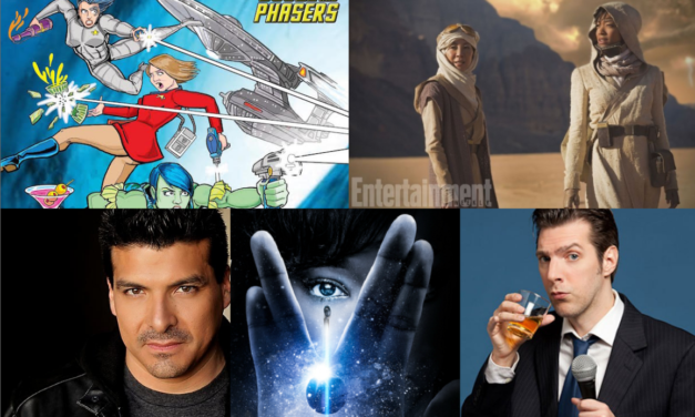 Ep 32 – It's All About Star Trek: Discovery with Guests Joseph Scrimshaw and John Steven Rocha