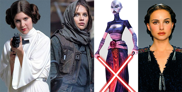 May the 4th Be With You – Here Are 4 Women of STAR WARS We Love