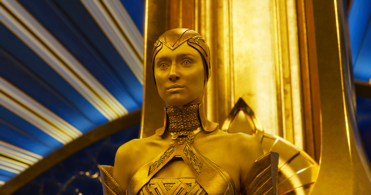 Elizabeth Debicki Will Return as Ayesha in GUARDIANS OF THE GALAXY 3