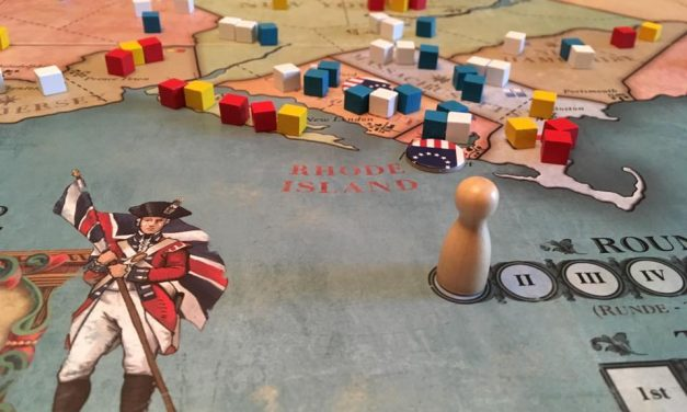 1775: REBELLION – A War Game For Non-War Gamers