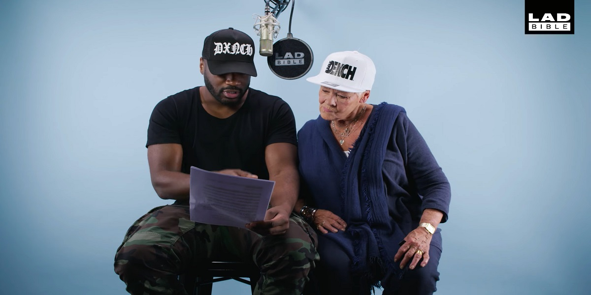 Dame Judi Dench Drops the Beat with Lethal Bizzle