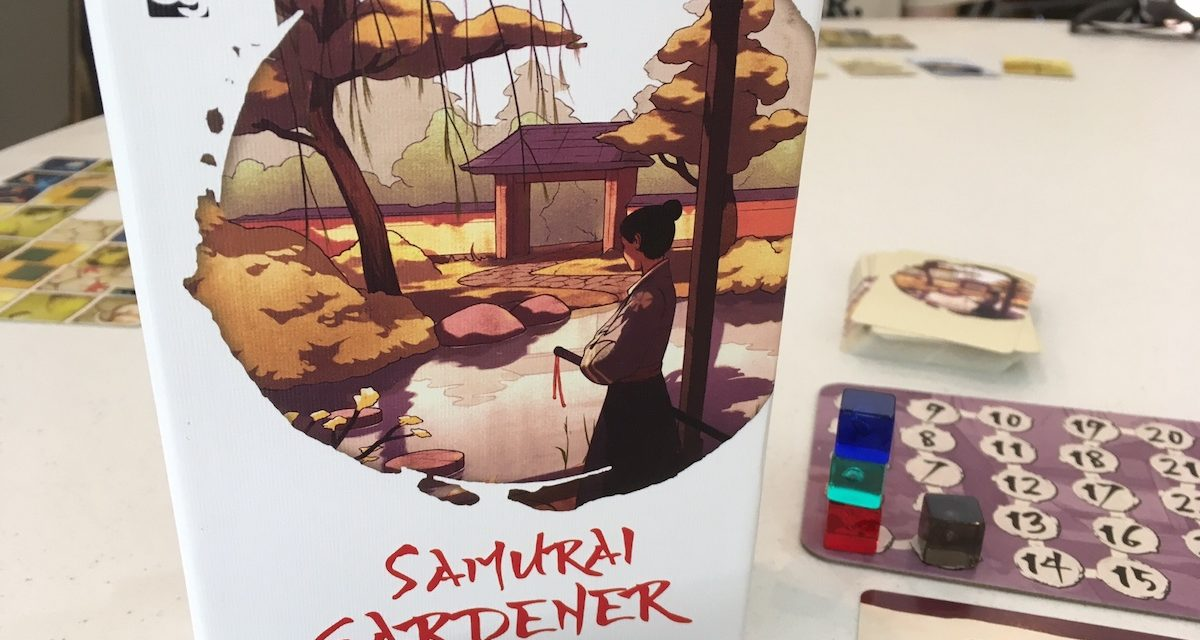 SAMURAI GARDENER: Building A Path To Fun