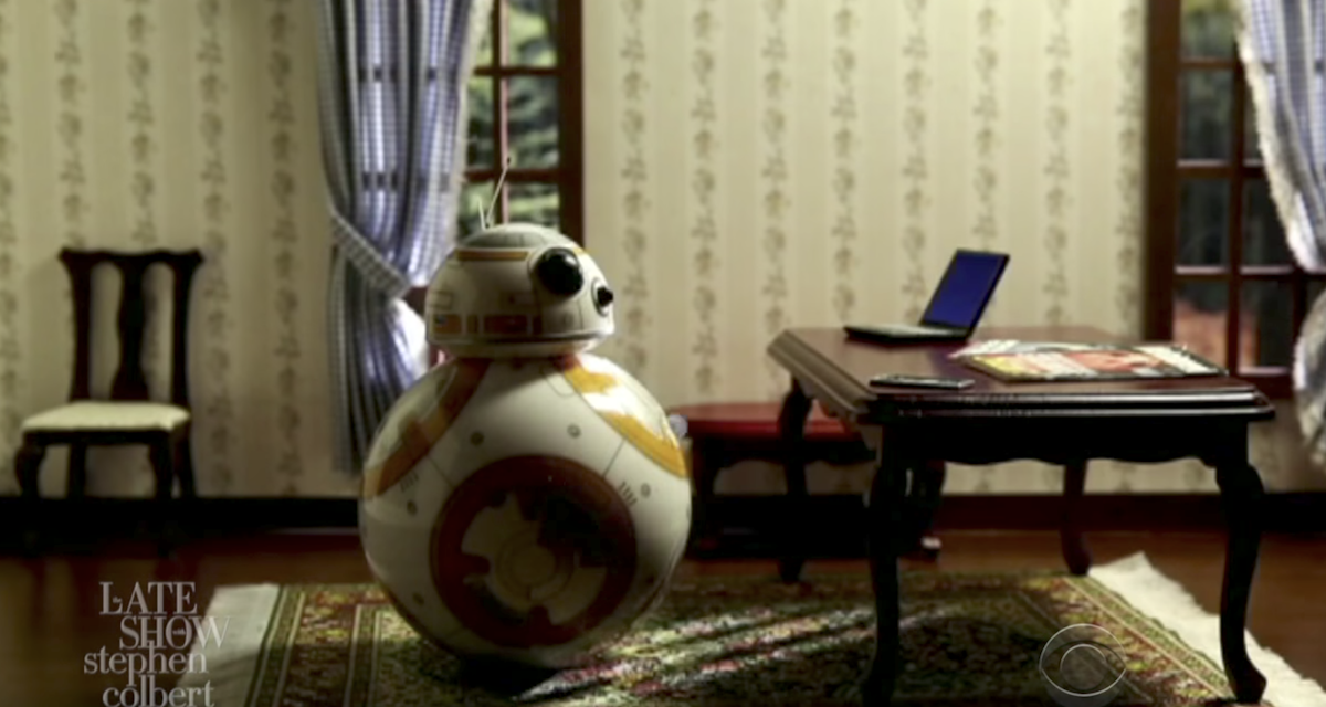 BB-8 Is Not Okay with Porgs in Hilarious Stephen Colbert Bit