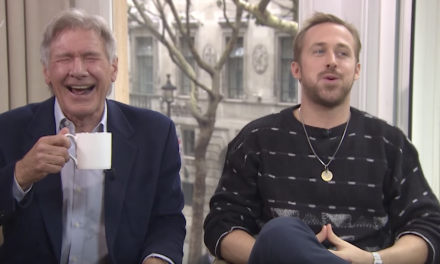 Watch Harrison Ford and Ryan Gosling Break into Hysterics in Crazy Blade Runner 2049 Interview