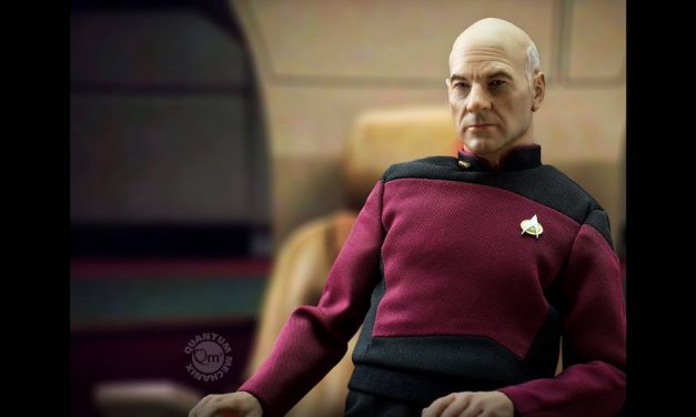 Engage in This Amazing Captain Picard Figure from Quantum Mechanix