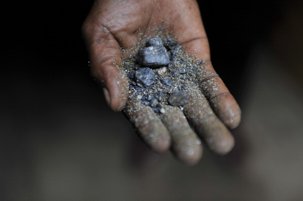 Coltan from the rich deposits of Masisia territory in North Kivu. (Photo by Lucas Oleniuk/Toronto Star via Getty Images)