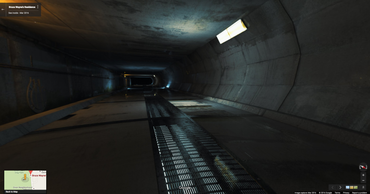 -youre-suddenly-in-a-dark-tunnel-theres-no-real-transition-between-house-and-batcave