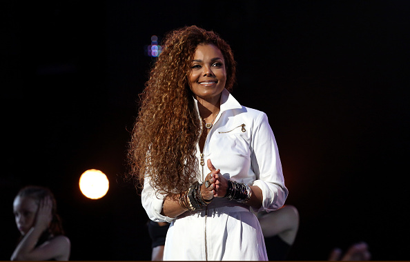LOS ANGELES, CA - JUNE 28:  Honoree Janet Jackson performs onstage during the 2015 BET Awards at the Microsoft Theater on June 28, 2015 in Los Angeles, California.  (Photo by Johnny Nunez/BET/Getty Images for BET)