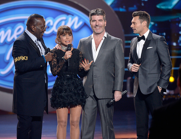 "onstage during FOX's ""American Idol"" Finale For The Farewell Season at Dolby Theatre on April 7, 2016 in Hollywood, California. at Dolby Theatre on April 7, 2016 in Hollywood, California."
