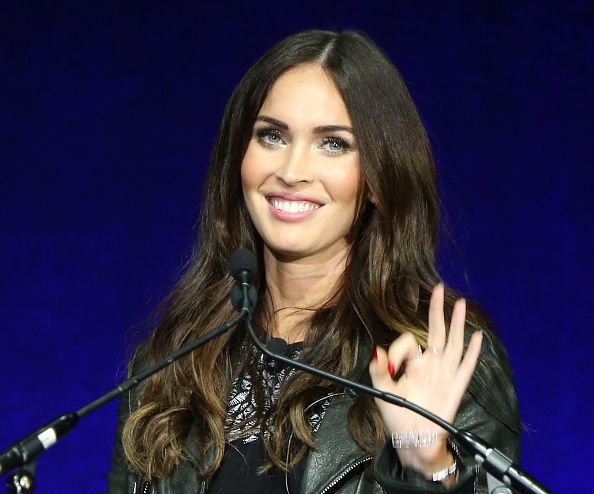 LAS VEGAS, NEVADA - APRIL 11:  Megan Fox onstage during CinemaCon 2016 - Paramount Pictures opening night presentation held at The Colosseum at Caesars Palace on April 11, 2016 in Las Vegas, Nevada.  (Photo by Michael Tran/FilmMagic)