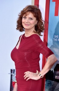 """HOLLYWOOD, CA - JUNE 30: Actress Susan Sarandon arrives at the Premiere of Warner Bros. Pictures' """"Tammy"""" at TCL Chinese Theatre on June 30, 2014 in Hollywood, California. (Photo by Frazer Harrison/Getty Images)"""