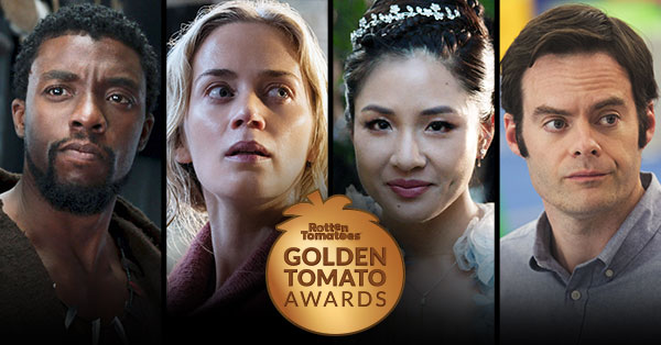 Golden Tomato Awards: Best Movies & TV of 2018