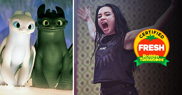 <em>How to Train Your Dragon: The Hidden World</em> and <em>Fighting with My Family</em> Are Certified Fresh