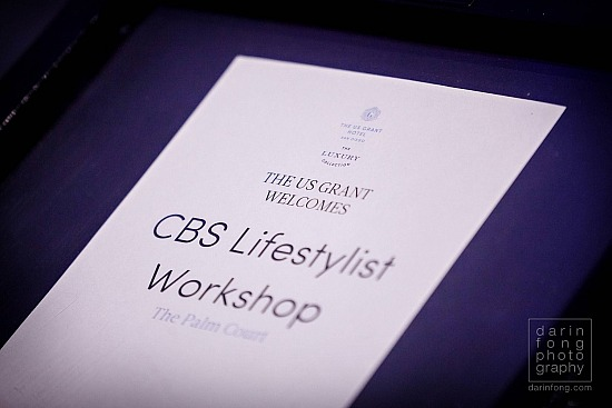 CBS Lifestylist Workshop