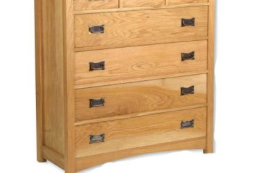 DIY 7 Drawer Mission Chest