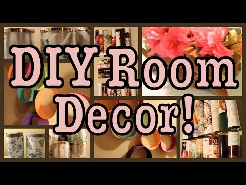 Do-it-yourself Space Decor! | Recycling Edition